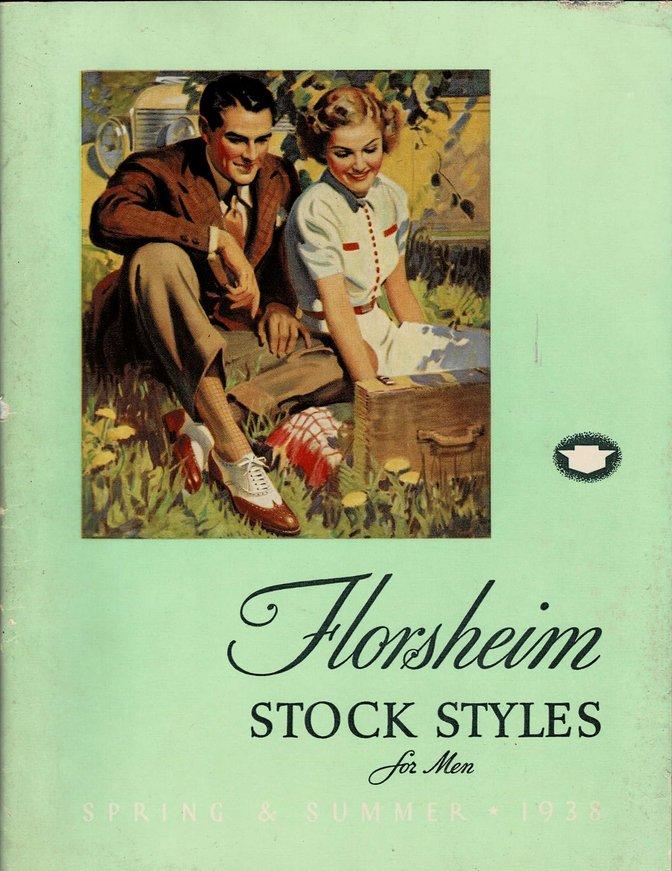 Florsheim Shoe Catalog 1938