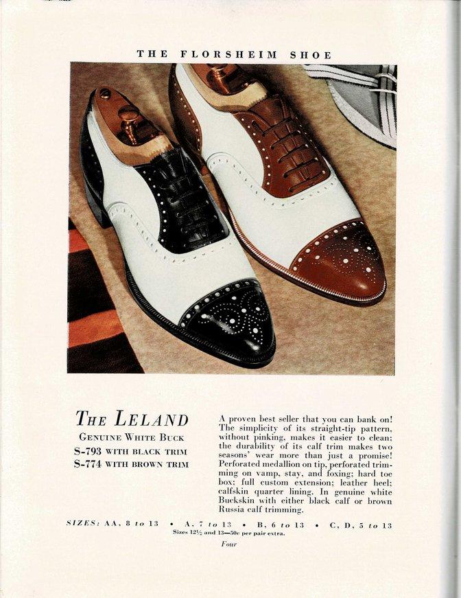 Florsheim Shoe Catalog S-793 S-774