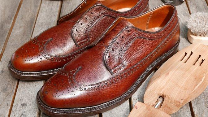 Alden Shoe Conditioning