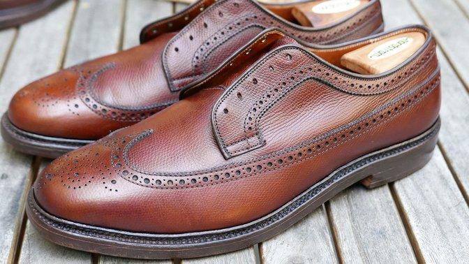 Alden Shoe Care
