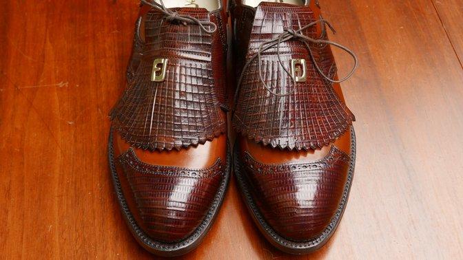 Vintage FootJoy Lizardskin
