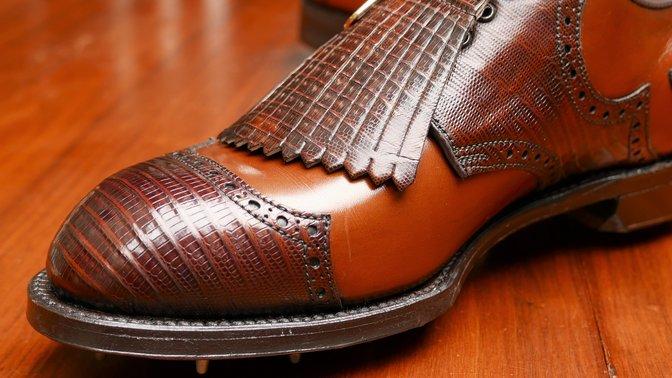 FootJoy Lizardskin Golf shoes