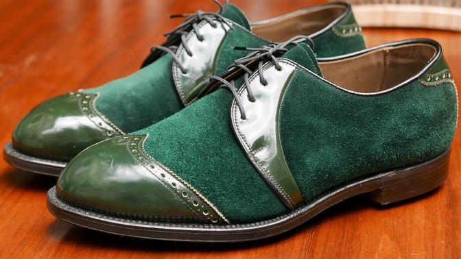 FootJoy 51771 Green Suede