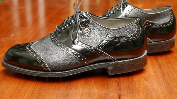 FootJoy 52233 Black Wing tip