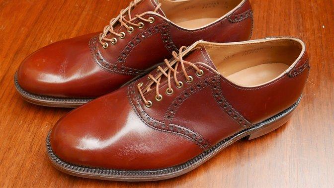Vintage FootJoy Classics Saddle