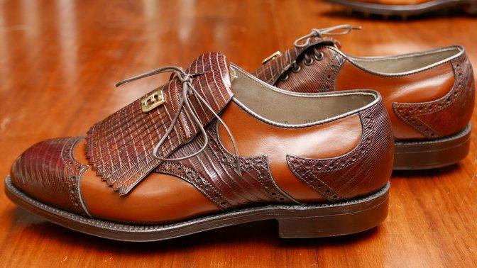 FootJoy Lizard skin 56028 Golf shoes Classics