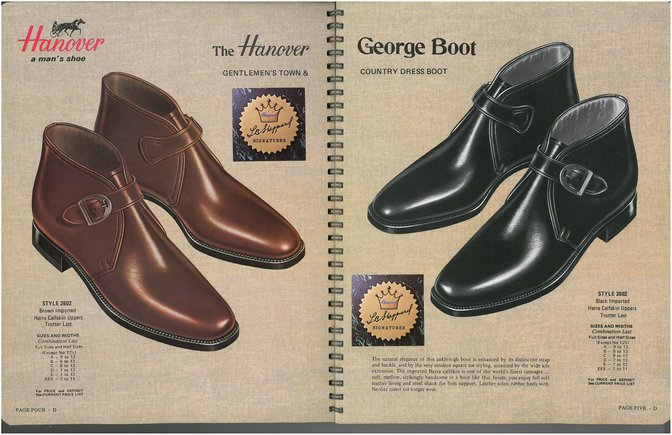 Hanover Shoes 2602 3602