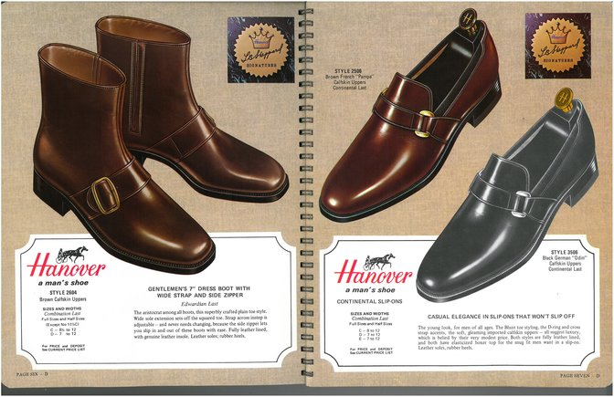 Hanover Shoes 2604 2506 3506