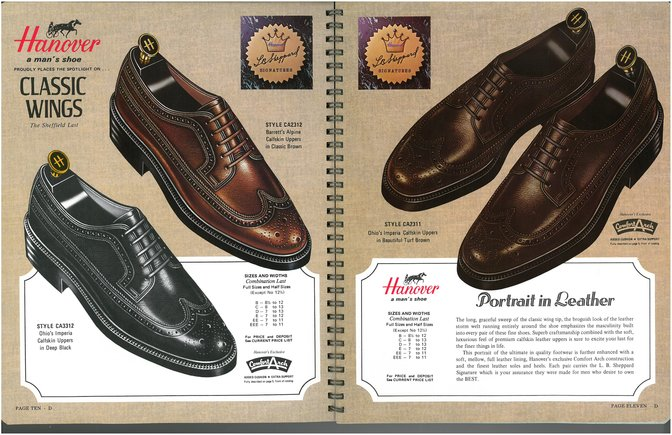 Hanover Shoes 3312 2312 2311