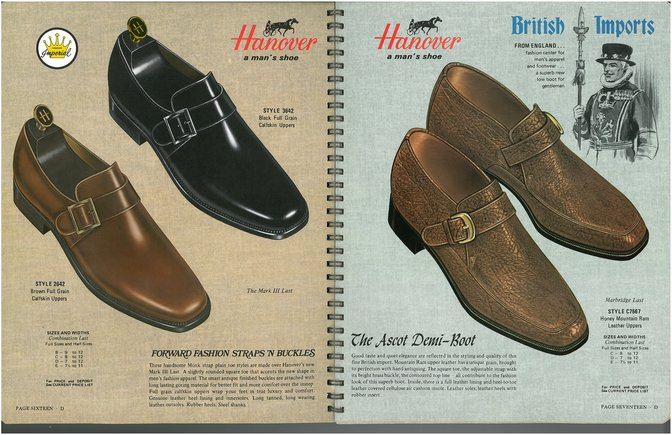 Hanover Shoes 2642 3642 7667