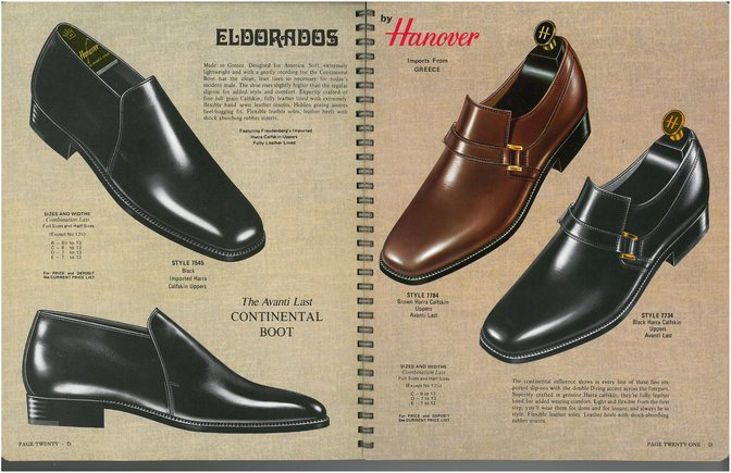 Hanover Shoes 7545 7784 7734