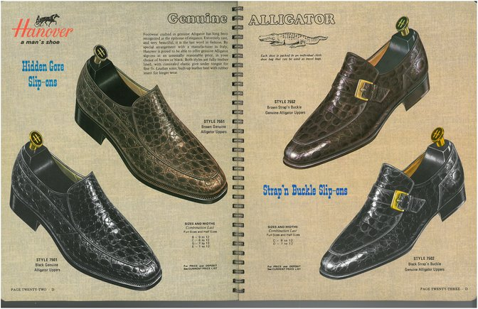 Hanover Shoes 7551 7501 7552 7502