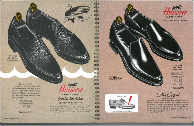 Hanover Shoes 7548 3572