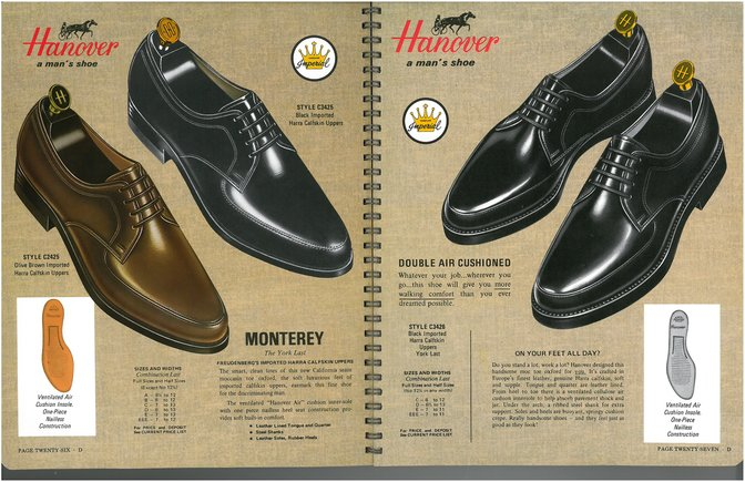 Hanover Shoes 2425 3426