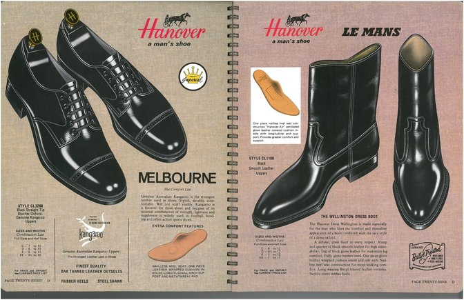 Hanover Shoes 3200 1166