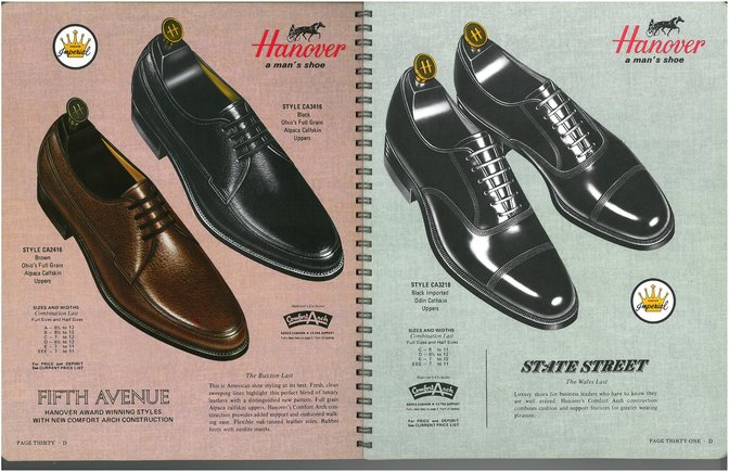 Hanover Shoes 2416 3416 3218