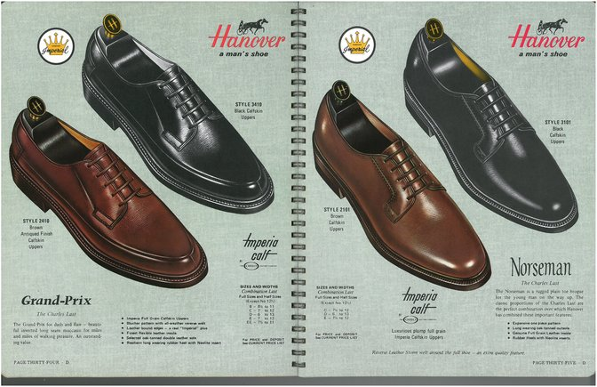 Hanover Shoes 2410 3410 2101 3101