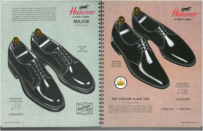 Hanover Shoes 3151 3107