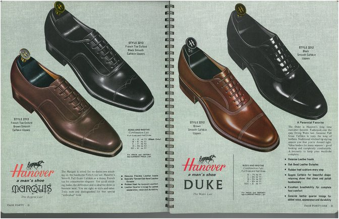 Hanover Shoes 2213 3213 2212 3212