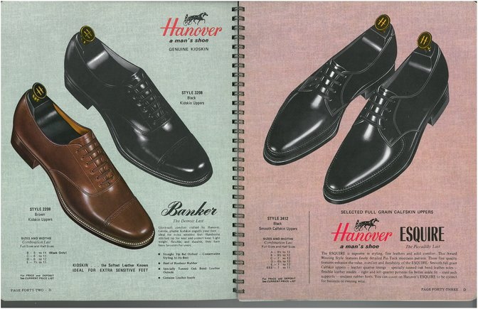 Hanover Shoes 2208 3208 3412