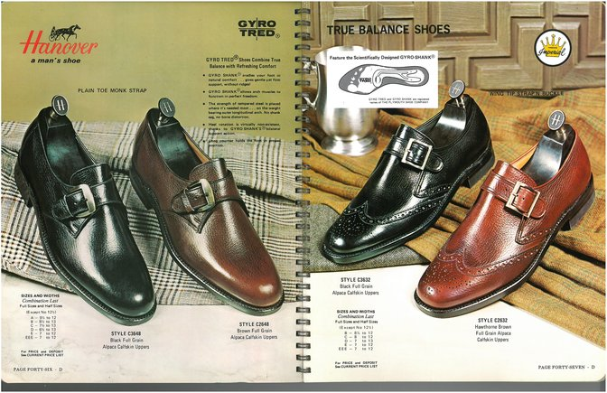 Hanover Shoes 3648 2648 3632 2632