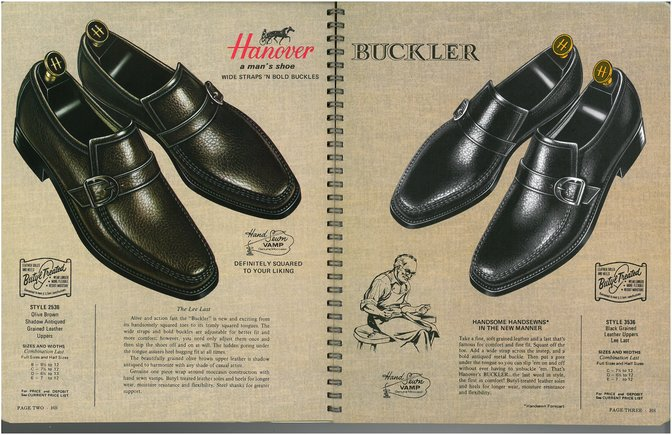 Hanover Shoes 2536 3536