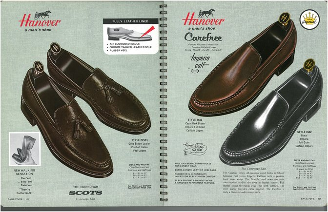 Hanover Shoes 2513 2502 3502