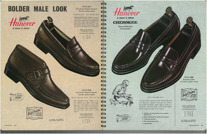 Hanover Shoes 2517 2530 2560