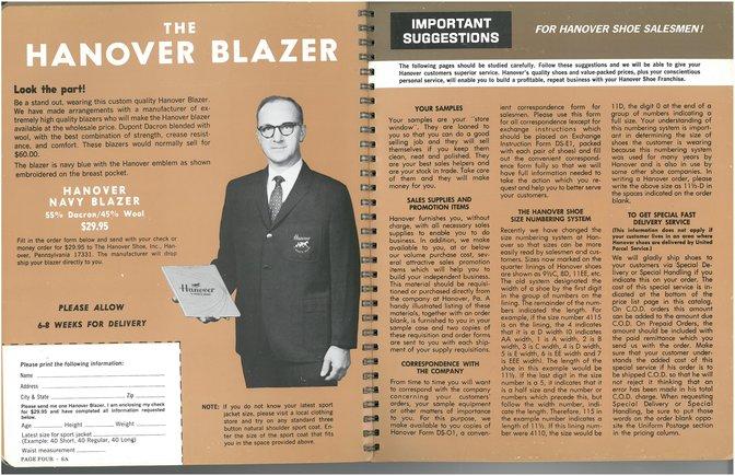 Hanover Shoes Blazer