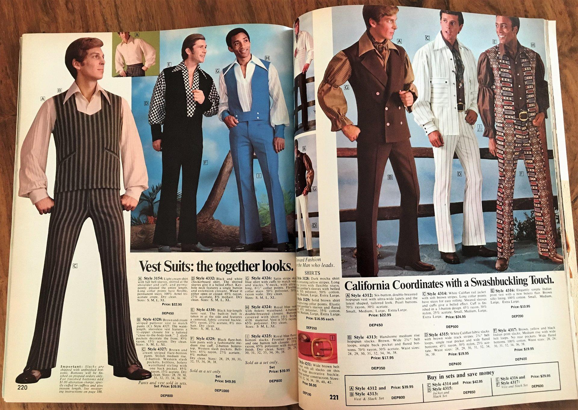 1971 Men's Fashion