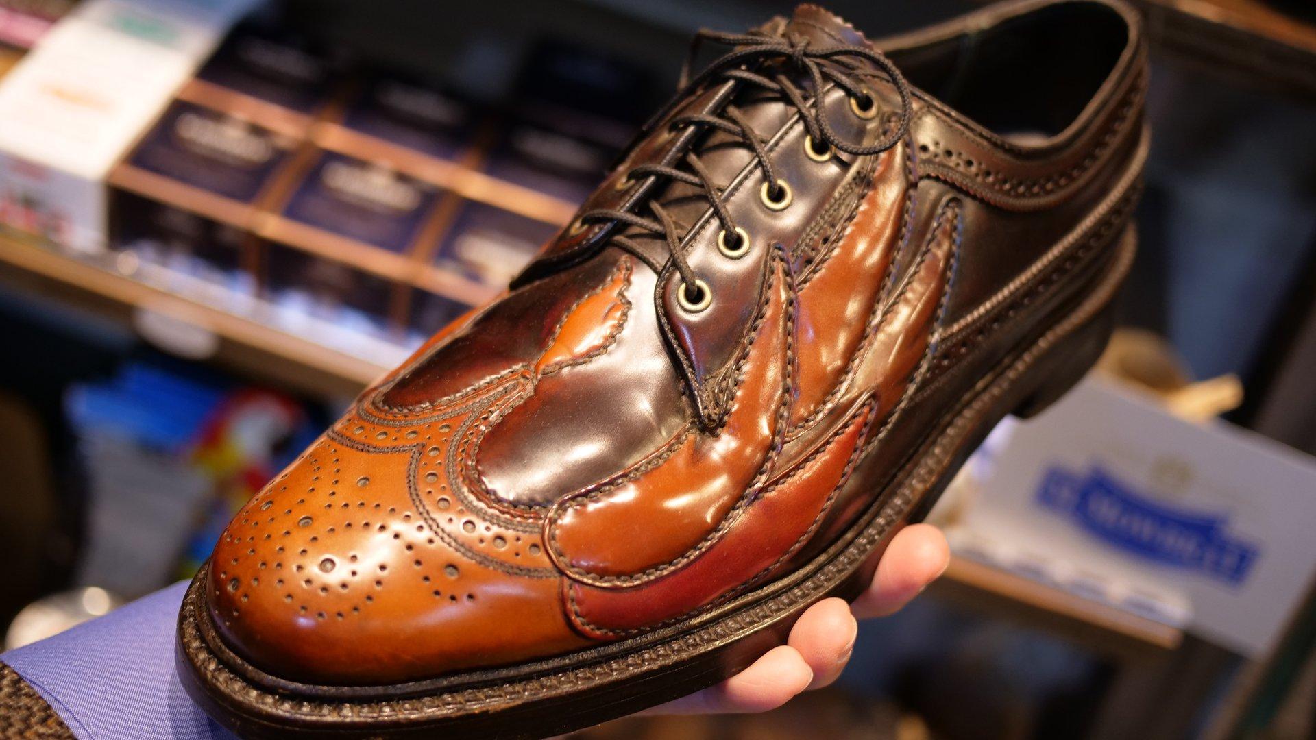 Customized vintage shoe