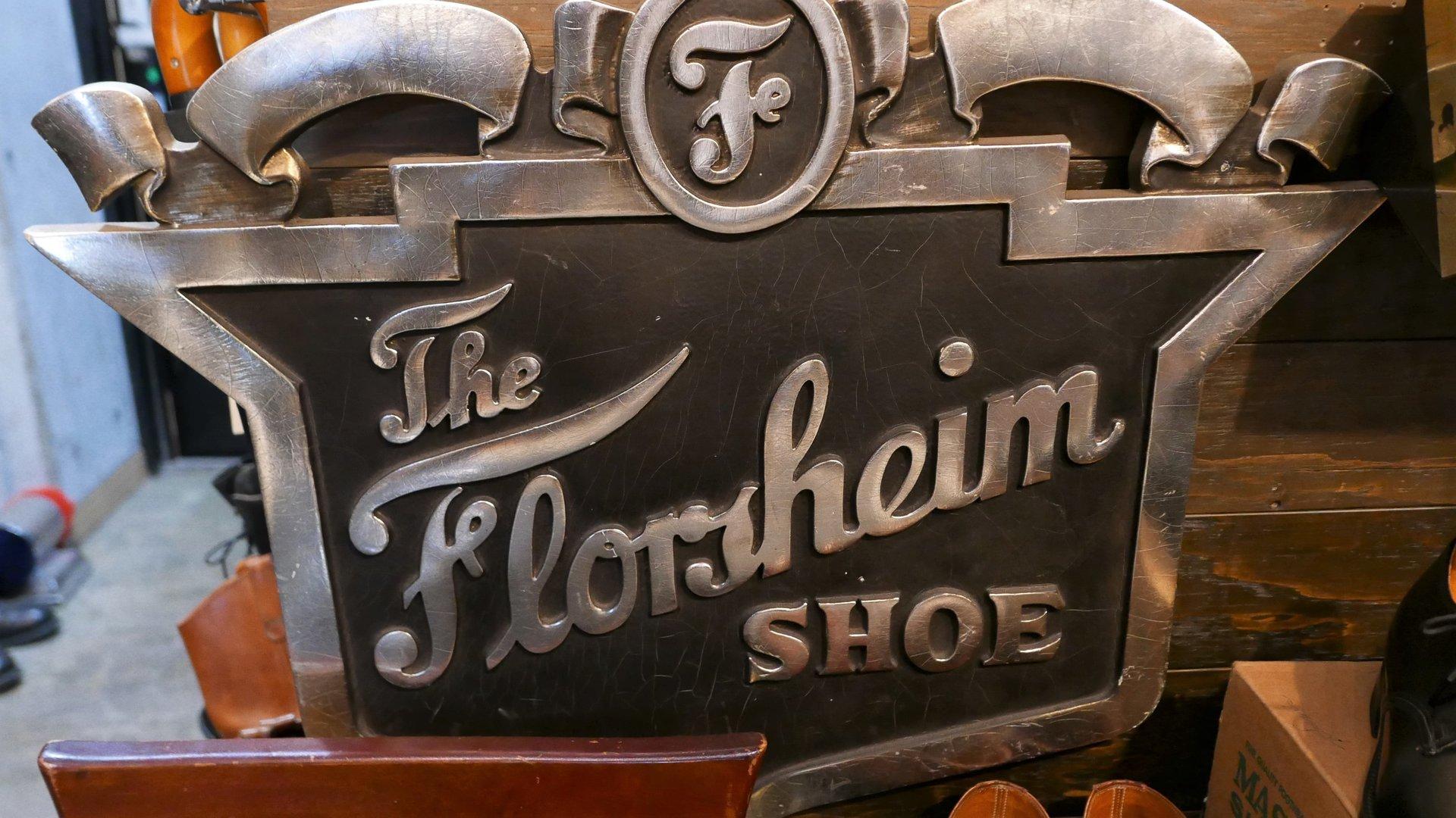 Florsheim Shoes Sign