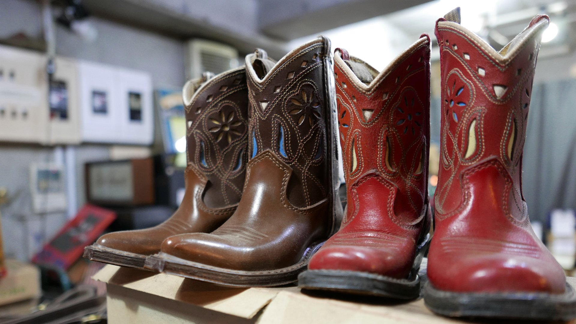 Vintage Toy Boots